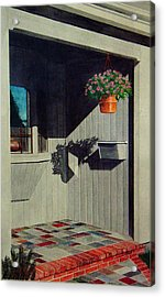My Front Porch Acrylic Print by Ron Sylvia
