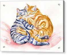 My Furry Valentine Acrylic Print