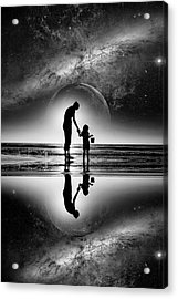 My Future Acrylic Print by Kevin Cable