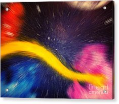 My Galaxy Too Acrylic Print