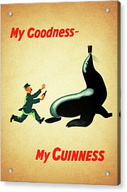 My Goodness My Guinness 1 Acrylic Print