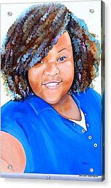 My Goodness  Selfie Acrylic Print