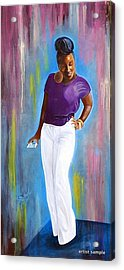 My Goodness Strike A Pose Acrylic Print