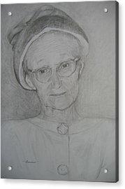 My Grandma Acrylic Print by Marlene Robbins