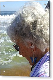 My Grandmother Acrylic Print by Scarlett Royal