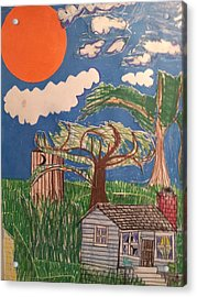 My Great Great Grandmother's House Acrylic Print by William Douglas