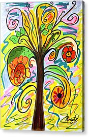 My Happiness Tree.... Acrylic Print