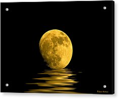 My Harvest Moon Acrylic Print