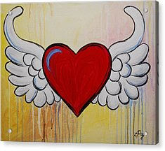 My Heart Has Wings Acrylic Print