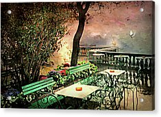 My Heart Lives In Sorrento Acrylic Print by Diana Angstadt