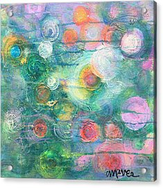 Acrylic Print featuring the painting My Heart Will Find You by Laurie Maves ART