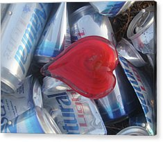 My Hearts Drunk With Love Acrylic Print