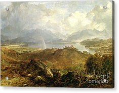 My Heart's In The Highlands, 1860 Acrylic Print
