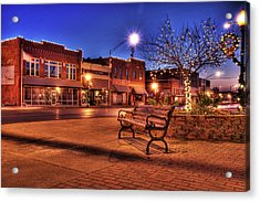 My Hometown Acrylic Print by Tamyra Ayles