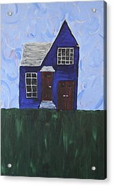 My House Acrylic Print by Tracy Fetter