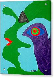 My Inner Bird Acrylic Print by Jim Furlong