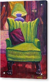 My Interview With A Chair Acrylic Print