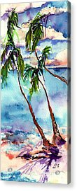 Acrylic Print featuring the painting My Island In The Sun by Ginette Callaway