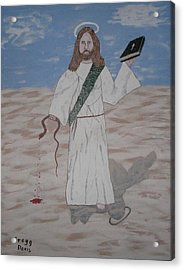 My Jesus Acrylic Print by Gregory Davis