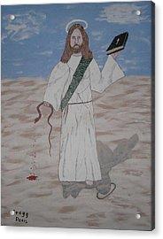 My Jesus Acrylic Print by Gregory Davis