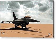 My Jet Acrylic Print