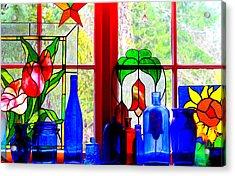 My Kitchen Window Acrylic Print
