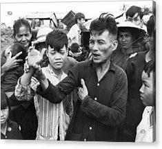 My Lai Massacre Victims Acrylic Print by Underwood Archives