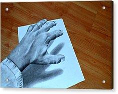 My Left Hand Acrylic Print