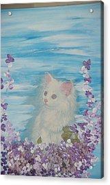 My Little Cat Acrylic Print