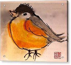 My Little Chickadee Acrylic Print