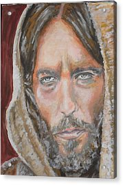 My Lord Acrylic Print by Agnes V