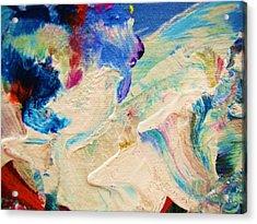 My Love For Art Acrylic Print by HollyWood Creation By linda zanini