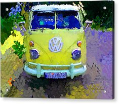 My Magic Bus Acrylic Print