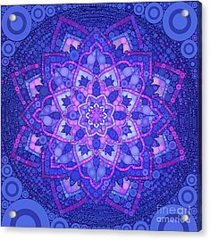 My Mandala, Pop Art By Mb Acrylic Print