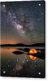 My Million Star Hotel Acrylic Print by Darren White