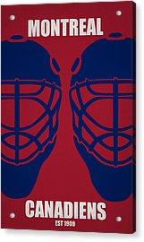 My Montreal Canadiens Acrylic Print by Joe Hamilton