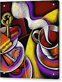 My Morning Coffee Acrylic Print