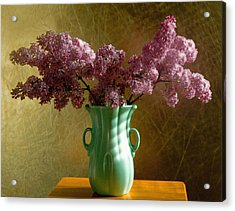 My Mother's Lilacs Acrylic Print by Wendy Blomseth