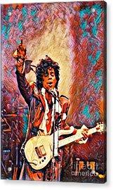 My Name Is    -  Prince Acrylic Print