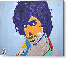 My Name Is Prince  Acrylic Print by Stormm Bradshaw