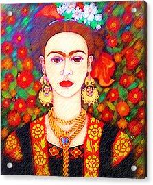 My Other Frida Kahlo Acrylic Print