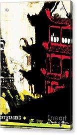My Pagoda Acrylic Print by Brian Drake - Printscapes