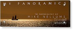 My Panoramics Coffee Table Book Cover Acrylic Print