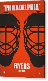 My Philadelphia Flyers Acrylic Print by Joe Hamilton