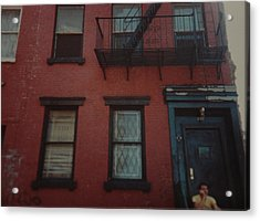 My Pops First Home In The United States Acrylic Print by Rob Hans