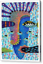My Self 1 Acrylic Print by Opas Chotiphantawanon