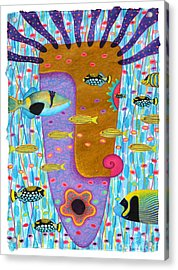 My Self  2 Acrylic Print by Opas Chotiphantawanon