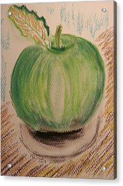 My Shiny Apple Acrylic Print