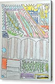 My Side Yard Acrylic Print by J R Seymour