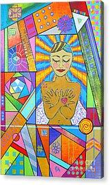 My Soul, I Carry Acrylic Print